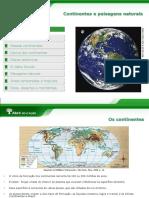 Continentes - Paisagens Naturais FINAL