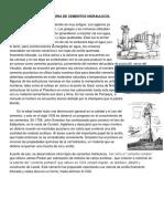 Historia de Cementos Hidraulicos
