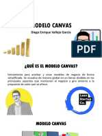 Modelo Canvas- Diego Enrique Vallejo Garcia