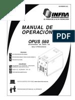 Manual Opus 560