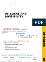 Integers and Divisibility