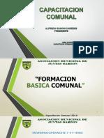 Formación Comunal Basica