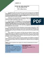 20 CONSTI1_Ruffy v Chief of Staff Digest_Crisostomo (Executive)