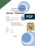 Sistema Concursal en El Peru