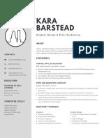 Kara Barstead Resume 2019-2020