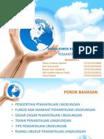 manajemen resiko lingkungan - pemantauan lingkungan