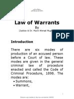 Law of Warrants