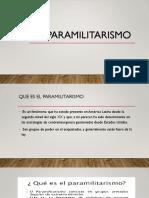 El Paramilitarismo