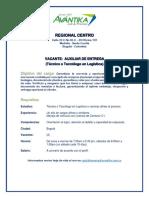 Publicación Vacante Auxiliar de Entrega Bogota