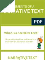 Elements of a Narrative Text