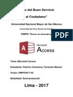 Access - Resumen general