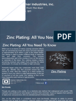 Zinc Plating All You Need to Know