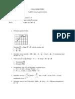 Soal Matematika Peminatan