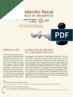Consolidacion Fiscal Regimen Fisca en Decadencia Paf