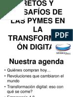 Presentación Transformación Digital - Ray Miller