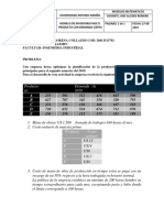Modelo Matematico Inventario Multiproducto