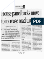 Business Mirror, Nov. 12, 2019, House panel backs move to increase road users tax.pdf