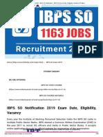 IBPS SO 2019 - IBPS SO Notification - IBPS SO Exam Date, Eligibility, Syllabus & Pattern.pdf