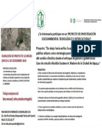 Convocatoria Estudiantes Proyecto de Investigación Socioambiental, Tecnológico e Intercultural - Mexico