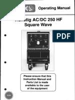 Transtig AC DC250HF