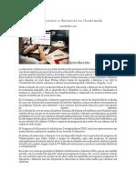 La Educación a Distancia en Guatemala