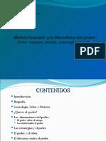 Michel Foucault  y la       Microfísica del Poder