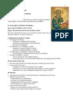Cambridge o Level-gospel of Matthew