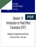 OCW-ECC S13 Introduction to Field Effect Transistors FET