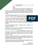 Planificacion de Aplicación Del Cuadernillo