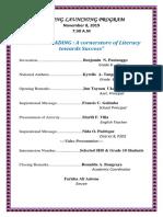 Reading Program 2019