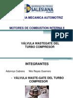 Valvula Waste Gate - Funcionamiento