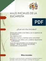Ritos iniciales de la Eucaristia