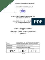 Annex 4 Calcualtion Design