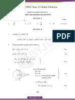 CBSE Class 10 Maths Solution PDF 2015 Set 2