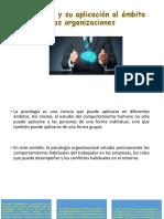 Psicología organizaciónal