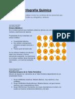 Infografía Química