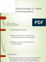 6 Instructional Design in Online Course Development