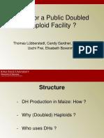 Double Haploid Production