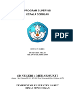 Program Supervisi Kepala Sekolah 2018-2019 Sdn 1 Mekarmukti