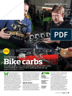 Classic Ford Ultimate Guide to Bike Carbs