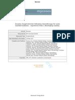 Mycosis Article PDF