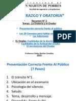 2_ La Oratoria y Actitud Del Orador