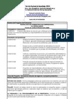 GUIA de ACTIVIDADES Proponer Alternativas de Solucion Samuel Leonardo Rojas