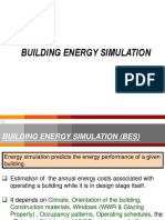 Building Energy Simulation guideline
