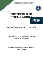 Ensayo Protocolo Etica y Moral