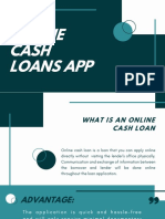 Online Cash Loan App