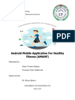 Android Mobile Application for Healthy Fitness