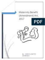 maternity act