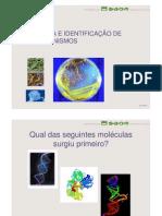 Microbiologia 7ª Aula - Taxonomia e Identificação de Microrganismos