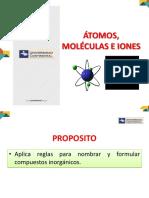 Semana 8 - Atomos Moleculas Iones